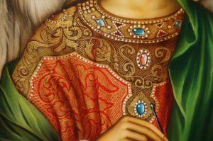 Saint St Archangel Raphael Hand-Painted Orthodox Icon