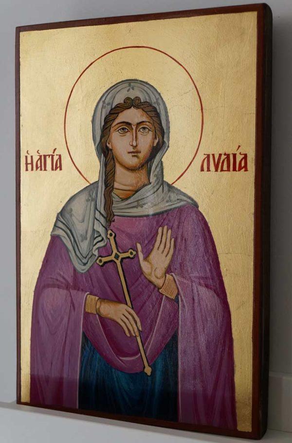 Saint St Lydia of Philippi Hand-Painted Orthodox Icon