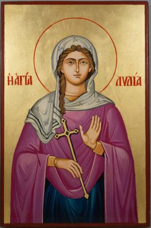 Saint St Lydia of Philippi Hand-Painted Orthodox Icon