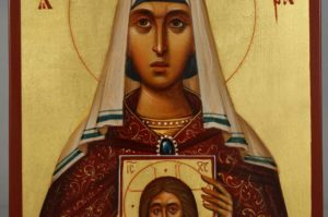 Saint Theodora the Empress Hand-Painted Orthodox Icon