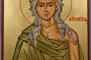 Saint St Mary of Egypt Hand-Painted Orthodox Icon