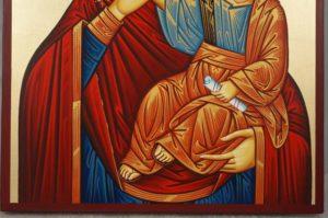 Theotokos Paramythia Hand-Painted Greek Orthodox Icon
