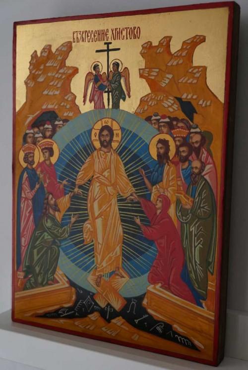Harrowing of Hades Resurrection of Christ Hand Painted Orthodox Icon