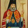 Saint Luke the Surgeon Icon Hand Painted Byzantine Orthodox