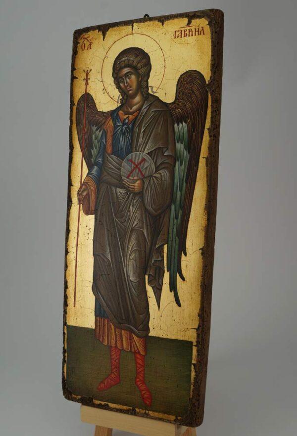 St Archangel Gabriel Vatopedi Monastery Icon Hand Painted Byzantine Orthodox