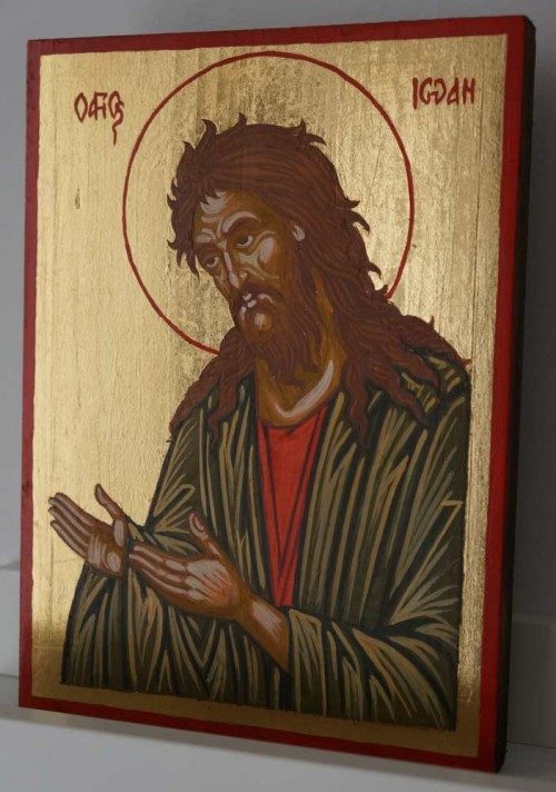St John the Forerunner – Deesis small Hand Painted Orthodox Icon