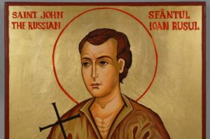 St John the Russian Hand Painted Orthodox Icon