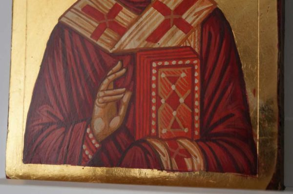 St Nicholas Small Hand Painted Orthodox Icon