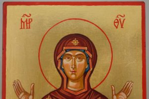 Mother of God the Unbreakable Wall Hand Painted Orthodox Icon