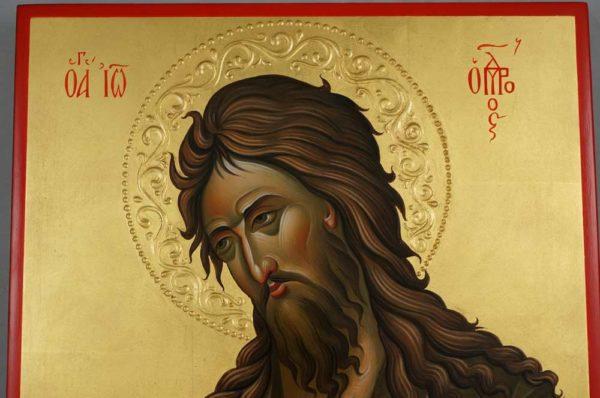 Saint John the Baptist Deesis Hand Painted Orthodox Icon