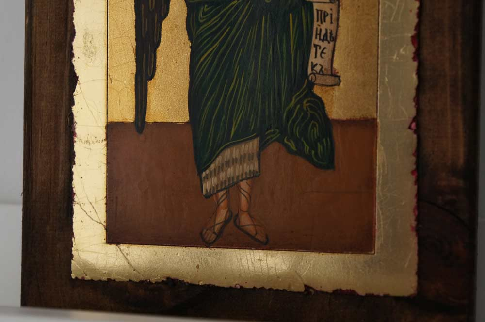 St John the Forerunner small Hand Painted Orthodox Icon