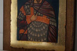 St Theodore Tiron Tyron small Hand Painted Orthodox Icon