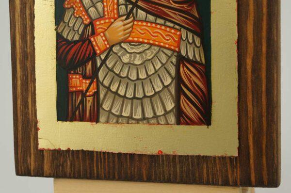 St Theodore Tiron Tyron small Icon Hand Painted Byzantine Orthodox