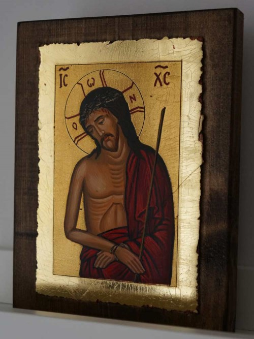 Christ the Bridegroom Hand Painted Orthodox Icon on Wood