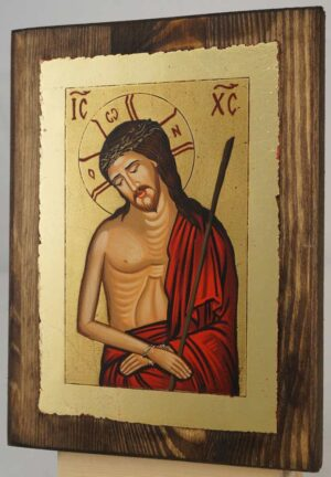 Christ the Bridegroom small Hand Painted Orthodox Icon