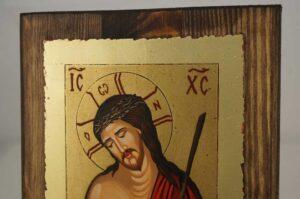 Christ the Bridegroom small Hand Painted Orthodox Icon