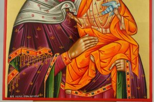 Mother of God Konevskaya Hand Painted Orthodox Icon Byzantine Orthodox