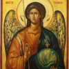 Saint Archangel Michael Hand Painted Byzantine Orthodox Icon