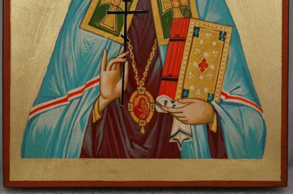 Saint Benjamin of Petrograd Hand Painted Orthodox Icon