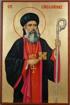 Saint Gregorios of Parumala Hand Painted Syrian Orthodox Icon