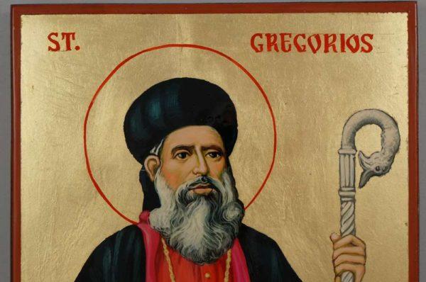 Saint Gregorios of Parumala Hand Painted Syrian Orthodox Icon