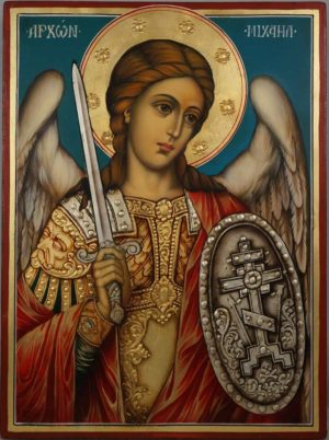 Saint Michael the Archangel Hand Painted Orthodox Icon