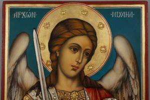 Saint Michael the Archangel Hand Painted Orthodox Icon