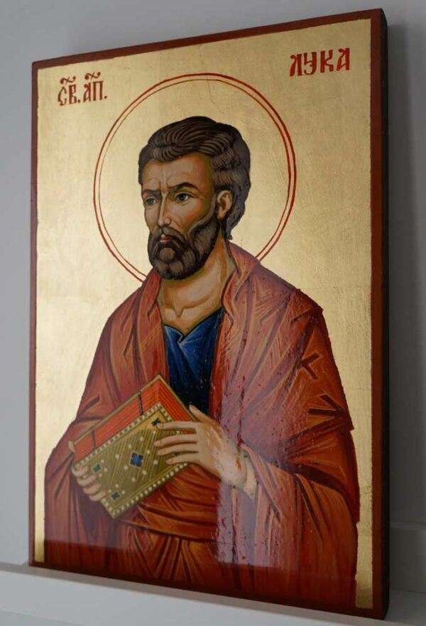 St Luke the Apostle Large Hand Painted Orthodox Icon