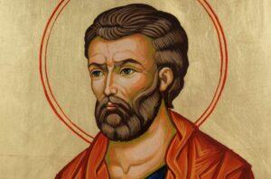 St Luke the Apostle Large Hand Painted Orthodox Icon