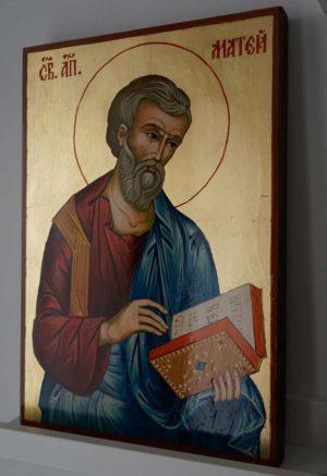 St Matthew the Apostle Large Hand Painted Byzantine Orthodox Icon