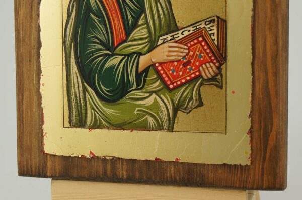 St Matthew the Apostle small Icon Hand Painted Byzantine Orthodox
