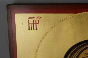 Theotokos Hodegetria Hand Painted Byzantine Orthodox Icon on Solid Wood