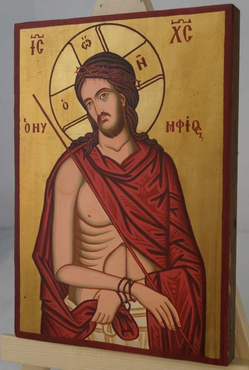 Christ the Bridegroom O Nymphios small Hand Painted Orthodox Icon