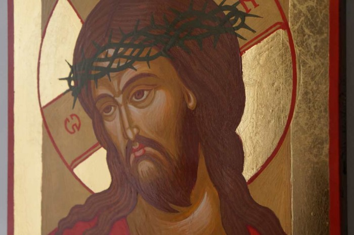 Christ Extreme Humility Icon Hand Painted Orthodox