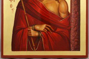 Christ the Bridegroom O Nymphios Hand Painted Byzantine Orthodox Icon