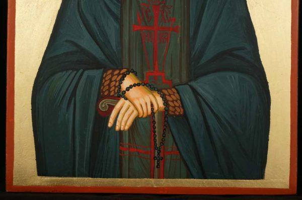 Elder Joseph the Hesychast Mount Athos Hand Painted Orthodox Icon