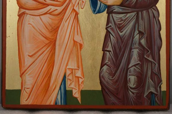 Holy Preeminent Apostles Peter and Paul Orthodox Icon Hand Painted