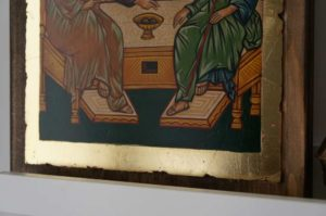 Hospitality of Abraham Holy Trinity Hand Painted Orthodox Icon