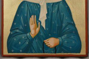 Saint Matrona of Moscow Hand Painted Orthodox Icon