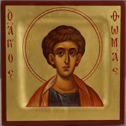 Saint Thomas the Apostle miniature Hand Painted Orthodox Icon
