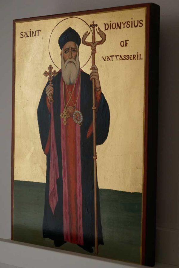 St Dionysius of Vattasseril Hand Painted Icon on Wood