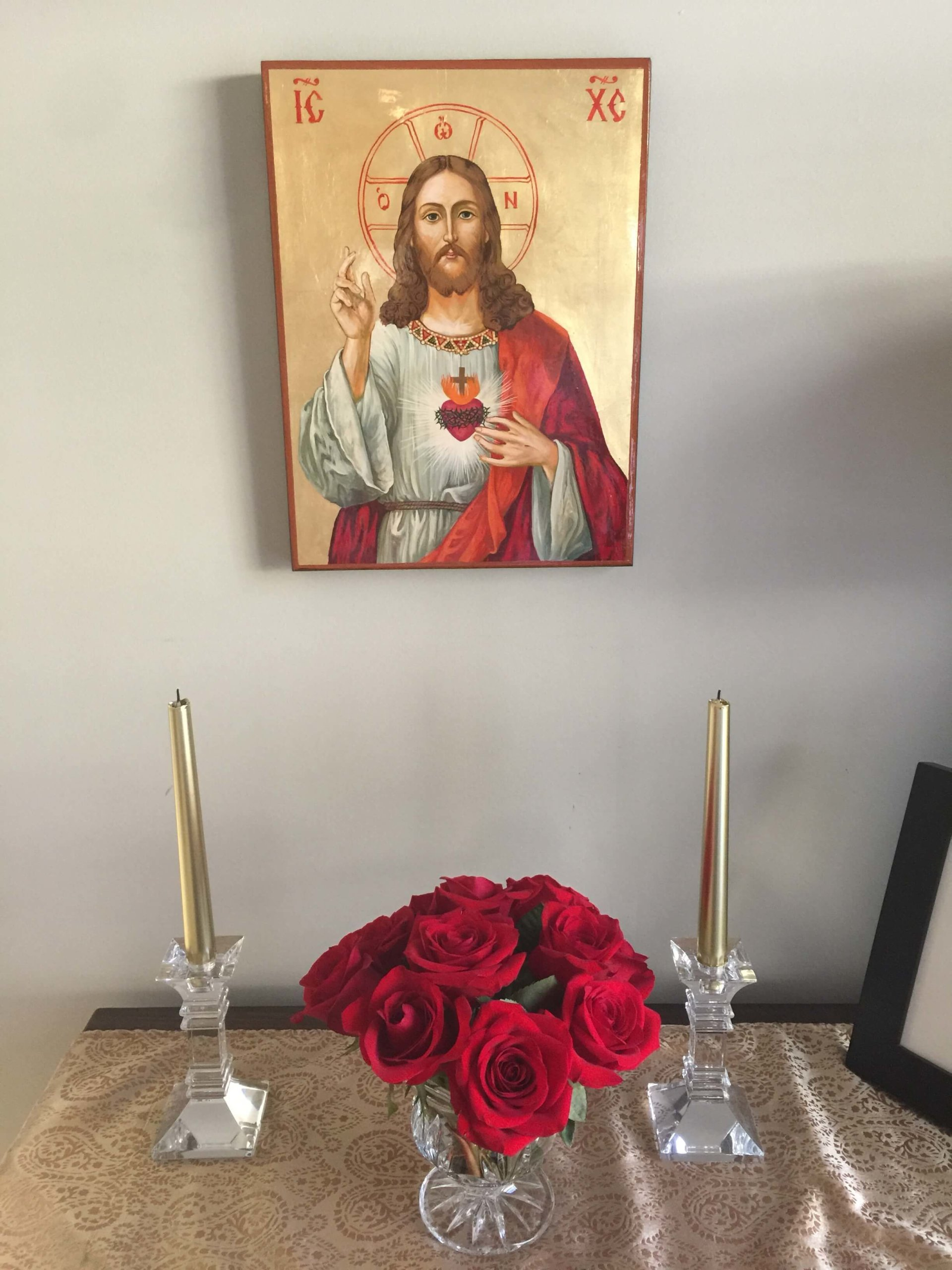 BlessedMart Customer Review Sacred Heart Icon