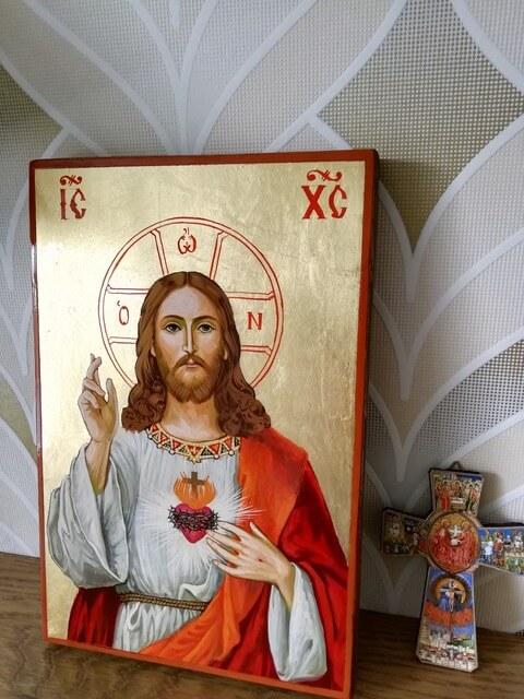 BlessedMart Review Sacred Haert Icon Prayer Corner