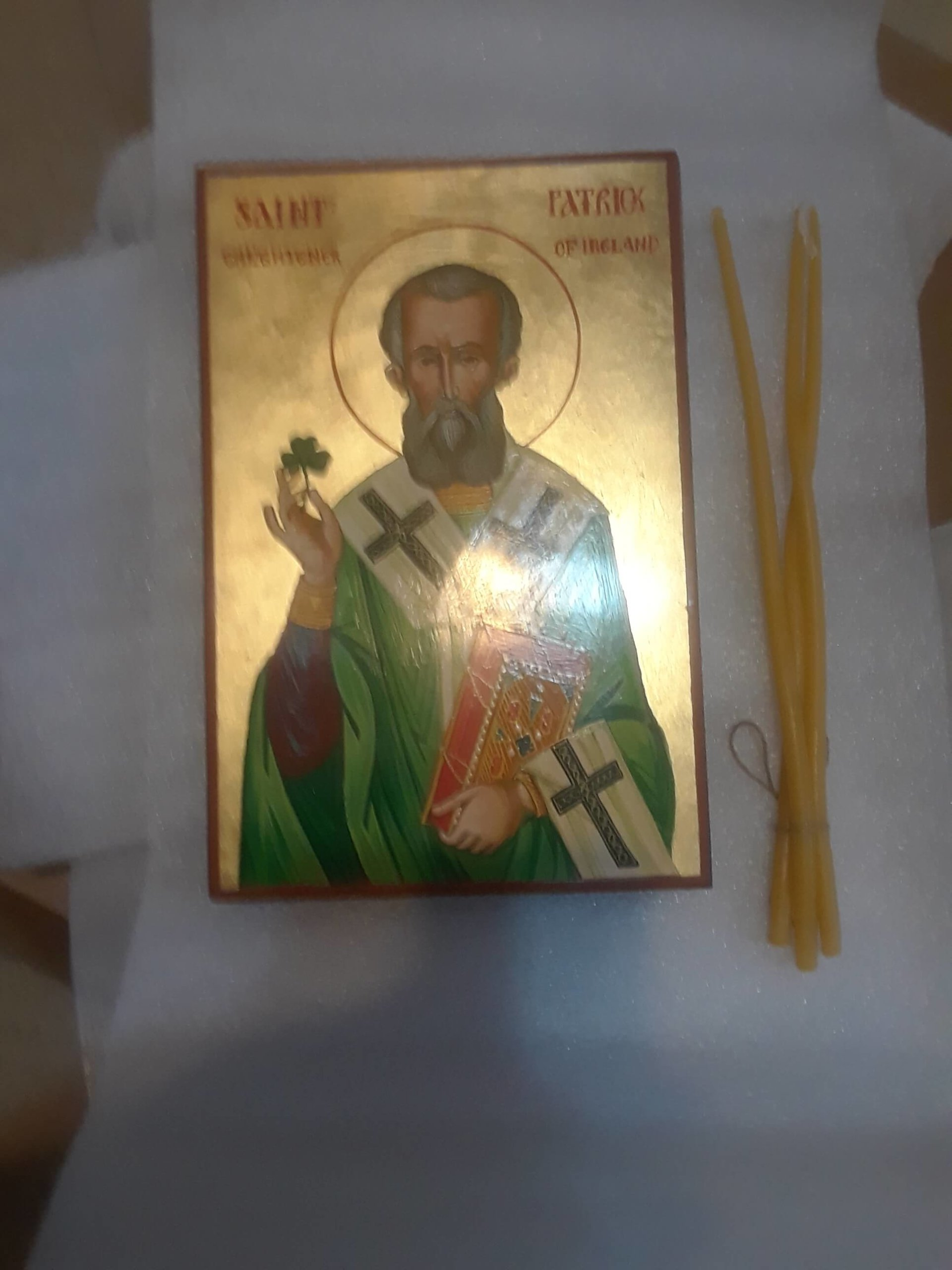 St Patrick Icon From BlessedMart