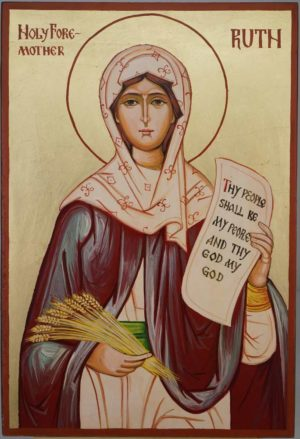 Holy Foremother Ruth Large Hand Painted Orthodox Icon