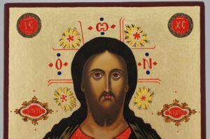 Jesus Christ the Teacher Icon Hand Painted Byzantine Orthodox