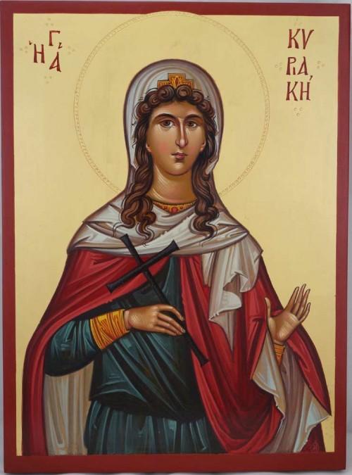 Saint Kyriaki the Great Martyr Hand Painted Icon Byzantine Orthodox
