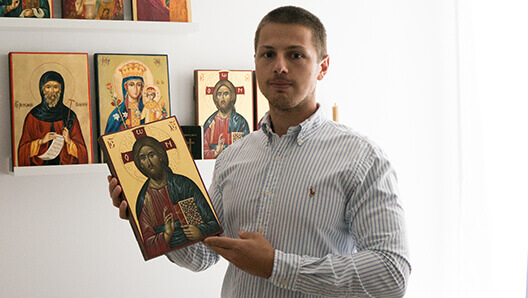 BlessedMart Hand Painted Byzantine Icons and Gifts