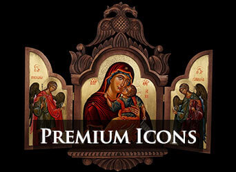 Premium Hand Painted Orthodox Icons BlessedMart