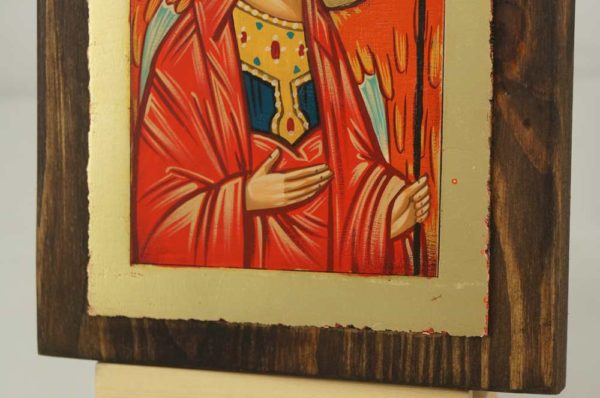 Archangel Michael Rublev small Hand Painted Icon Byzantine Orthodox